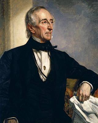 President Painting - John Tyler by George Peter Alexander Healy