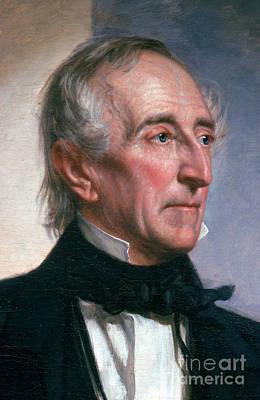 U S Presidents Photograph - John Tyler by Photo Researchers