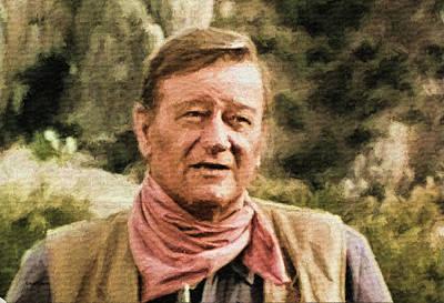 Photograph - John Wayne 6 by Ericamaxine Price