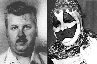 John Wayne Gacy Mug Shot Serial Killer And Clown 1980 Black And White Photo Original