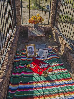 Photograph - John Wesley Hardin's Grave by Allen Sheffield