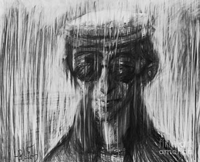 Mccartney Drawing - John Yoko Lennon by Tornike Sanodze