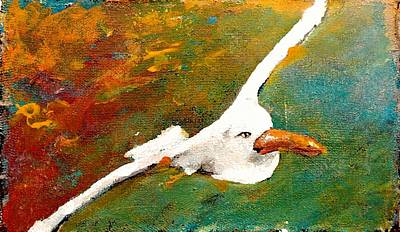 Painting - Jonathan Livingston 2017 2 by Marcello Cicchini