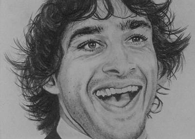 Kangaroo Drawing - Johnathan Thurston by Kate R
