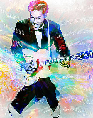 Johnny B. Goode Art Print