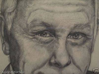 Johnny Carson Drawing - Johnny Carson.. by Joanne Zarola
