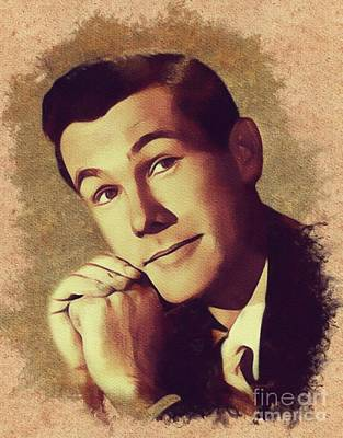 Actors Royalty-Free and Rights-Managed Images - Johnny Carson, Vintage Entertainer by Mary Bassett