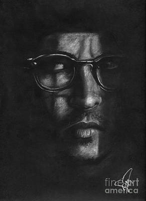 Johnny Depp 2 Print by Rosalinda Markle