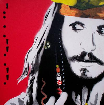 Johnny Depp Original by Gary Hogben