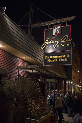 Photograph - Johnny Ds Music Club In Davis Square Somerville Ma Line by Toby McGuire