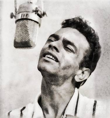 Musicians Royalty Free Images - Johnny Mathis, Music Legend by John Springfield Royalty-Free Image by John Springfield