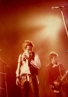 Johnny Rotten Photograph - Johnny Rotten And Steve Jones by Dawn Wirth
