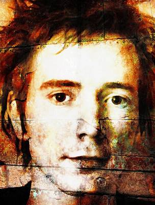 Johnny Rotten Painting - Johnny Rotten by Otis Porritt