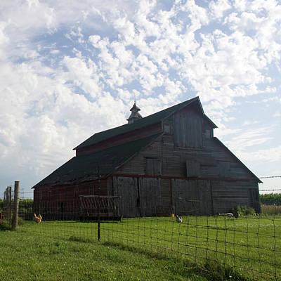 Photograph - John's Barn by Dylan Punke