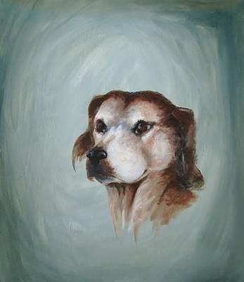 Painting - John's Buddy by Patricia Kanzler