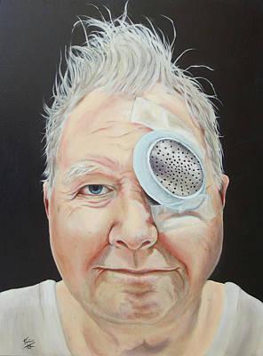 Painting - John's Eye Surgery by Kirsten Beitler