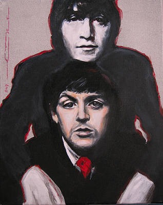 Mccartney Painting - John's Ghost by Eric Dee