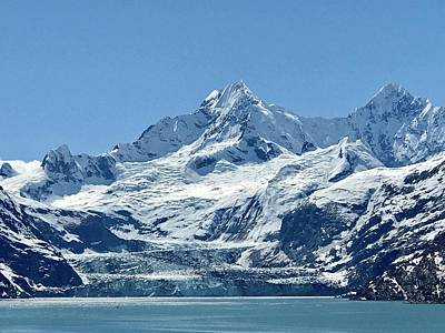 Photograph - Johns Hopkins Glacier by Russell Keating