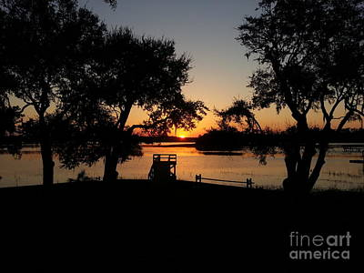 Fantasy Royalty-Free and Rights-Managed Images - Johns Island Sunset by Robert Knight