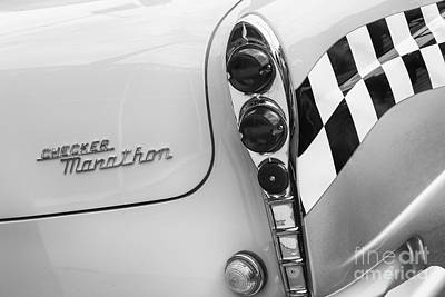Checker Cab Photograph - Taxi by Dennis Hedberg