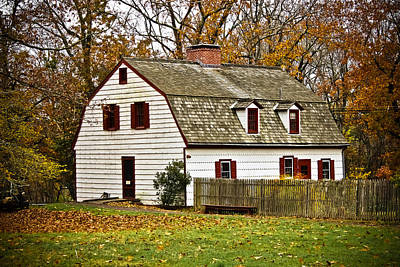 Photograph - Johnson Ferry House by Colleen Kammerer