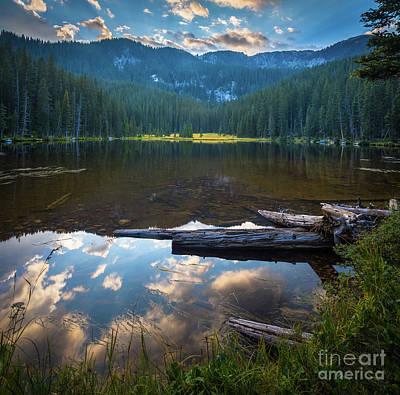 Photograph - Johnson Lake Sunset by Inge Johnsson