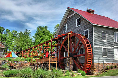 Photograph - Johnson Mill by Ben Prepelka
