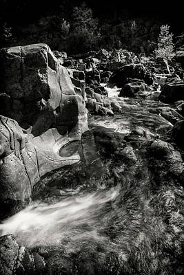 Photograph - Johnson Shut Ins Bnw Dsc02888-2015 by Greg Kluempers