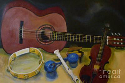 Painting - Joie De Vivre  by Karen Francis