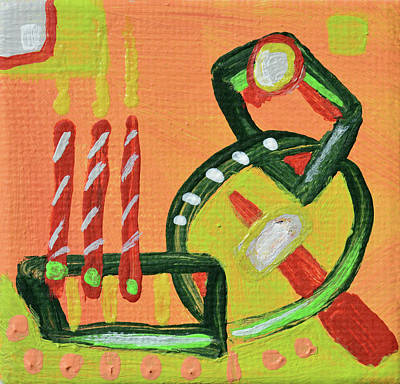 Painting - Join In Celebration by Donna Blackhall