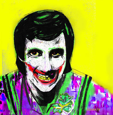 Joker Balki Bartokomous - Yellow Remix Art Print