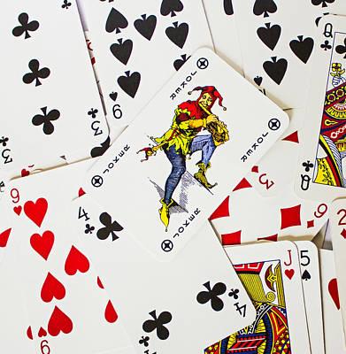 Joker In The Pack Art Print