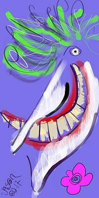 Digital Art - Joker by Jason Nicholas