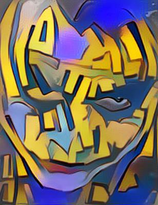 Heath Ledger Digital Art - Joker by Paul Van Scott