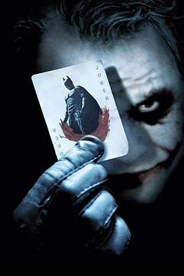 The Dark Knight Photograph - Joker Phone Case by Mohamed Adam