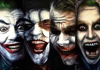 Michael Jackson Digital Art - Joker Super by Oscar Benero Lopez