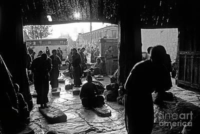 Photograph - Jokhang Reverence - Lhasa Tibet by Craig Lovell