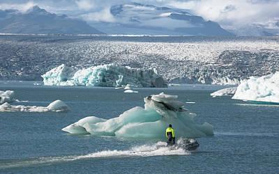 Photograph - Jokulsarion Lagoon, Iceland by Elvira Butler