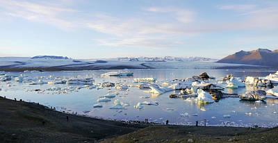 Photograph - Jokulsarlon Glacial Lagoon by Amelia Racca