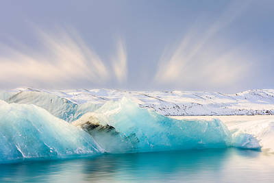 Photograph - Jokulsarlon Glacier Lagoon by Susan Leonard