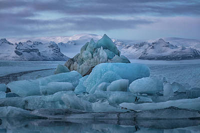 Photograph - Jokulsarlon Iceland by Andres Leon