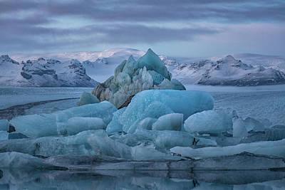 Photograph - Jokulsarlon Iceland by Andres Leon