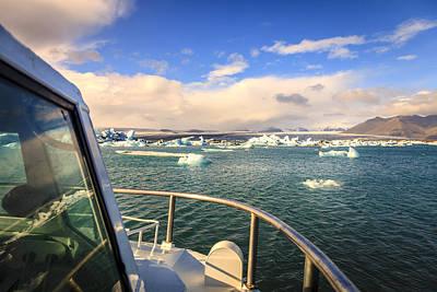 Photograph - Jokulsarlon Lagoon Tour by Alexey Stiop