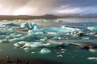 Photograph - Jokulsarlon The Magnificent Glacier Lagoon, Iceland by Dubi Roman