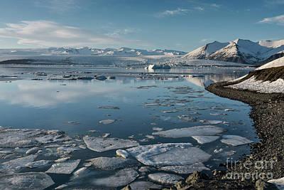 Photograph - Jokulsarlon Ice Lagoon - Iceland by Sandra Bronstein