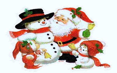 Digital Art - Jolly Christmas by Rafael Salazar
