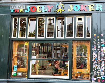 Photograph - Jolly Joke Amsterdam by John Rizzuto