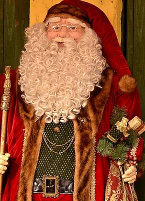 Photograph - Jolly Ole Saint Nick by Nadalyn Larsen