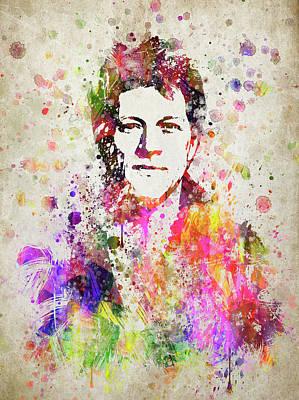 Jon Bon Jovi In Color Art Print