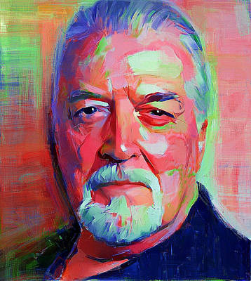 Digital Art - Jon Lord Deep Purple Portrait 3 by Yury Malkov